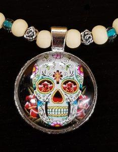 sugar skull medaillon 1 1