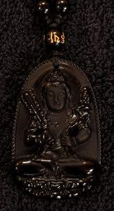 zwarte Buddha 1 3 detail